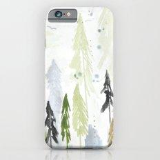 Into the woods woodland scene iPhone 6s Slim Case