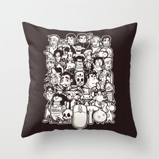 Point and Click  Throw Pillow