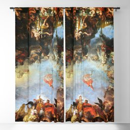 The King Governs by Himself by Charles Le Brun (1661) Blackout Curtain
