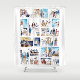 Ruddigore - At The Opera Shower Curtain