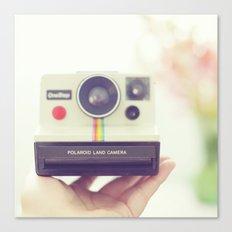 Polaroid Love. Canvas Print
