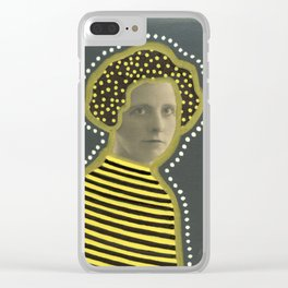 The Golden Bee Clear iPhone Case