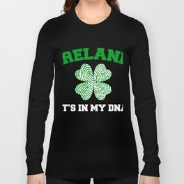 Awesome Shirt. Patricks Day Gift. Long Sleeve T-shirt