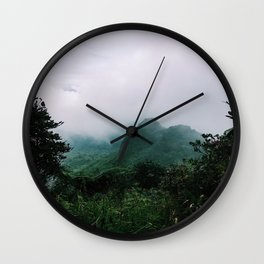 El Yunque Wall Clock