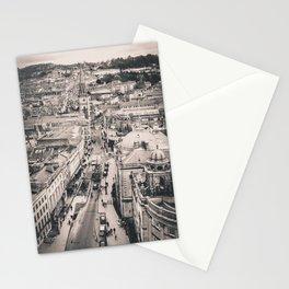 Bath Overlook (B+W) Stationery Cards