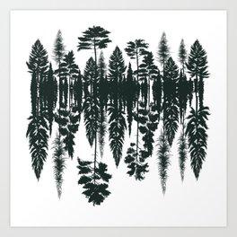 Arboles Art Print