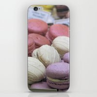 macaroons iPhone & iPod Skins featuring macaroons by redlinedesign®