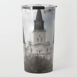 St. Louis Cathedral-New Orleans, Louisiana Travel Mug