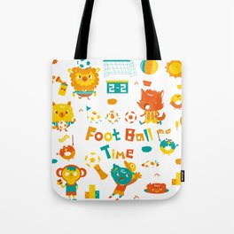 football time Tote Bag