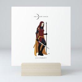 Aevum Circle - Lila Scarlett Mini Art Print
