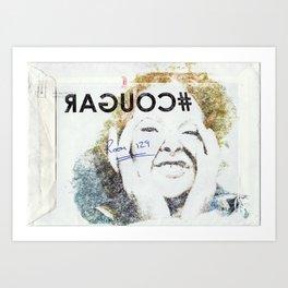 #COUGAR Art Print