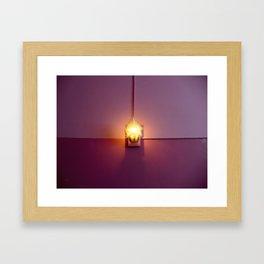 One's Lamp Light Framed Art Print