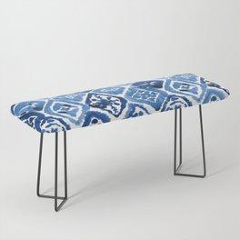 Arabesque tile art Bench