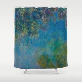 Claude Monet Wisteria Shower Curtain