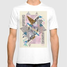(DREAMER) Take A Look  Mens Fitted Tee White MEDIUM