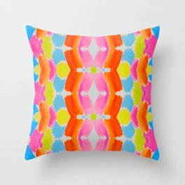 Candy Clouds Pattern Throw Pillow
