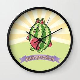 bunnymelon Wall Clock