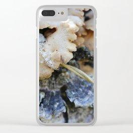 Mushroom 4 Clear iPhone Case