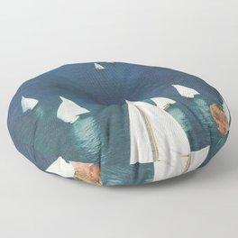 Harbor Floor Pillow