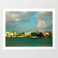 jamaica Art Prints featuring Jamaica by Mary Sandoval Photography