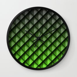 Draco Green Wall Clock