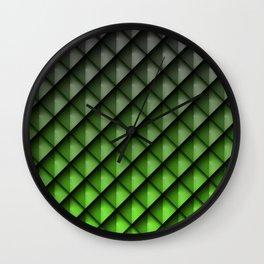 Draco Green Wall Clock