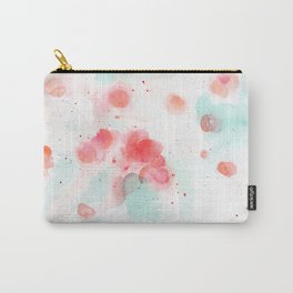 Abstract water lillies Carry-All Pouch