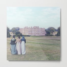 three Victorian ladies Metal Print
