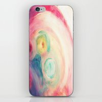 third eye iPhone & iPod Skins featuring third eye by Kras Arts - Fly Me To The Moon