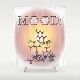 Mood - Oxytocin Shower Curtain