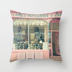 Sweet Cafe Throw Pillow