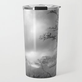 Mist in mountains Travel Mug