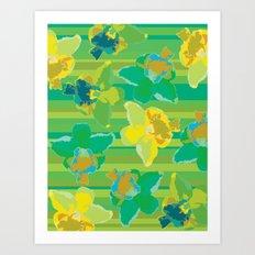 Fluor Flora - Acid Art Print