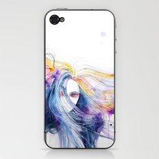 Big Bang in watercolor iPhone & iPod Skin