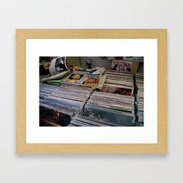 Vinyl Shoppe Framed Art Print
