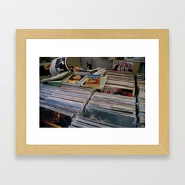 Vinyl Shoppe Framed Art Print