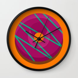 1DONUT - Jazzberry Wall Clock