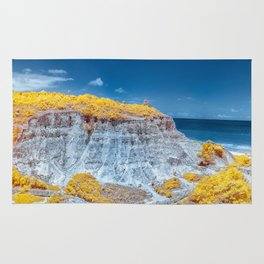 Cliff Panorama tropical Rug