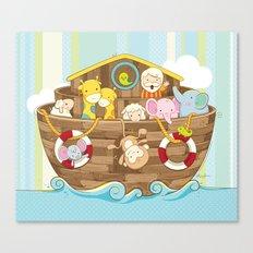 Baby Noah Ark Canvas Print