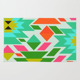 Ethnic with a tropical summer vibe Rug