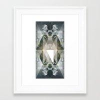 pi Framed Art Prints featuring pi by Anna Pietrzak