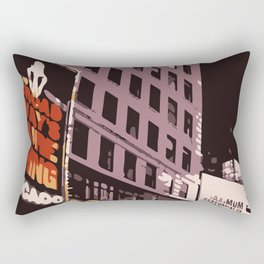 Late Night Snack Rectangular Pillow