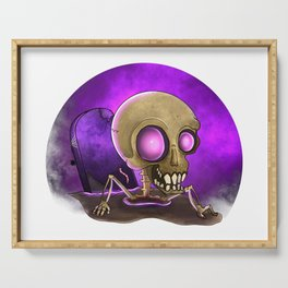 Undead Skeleton Serving Tray