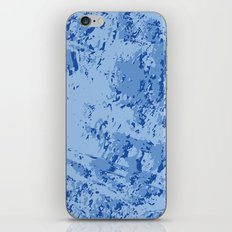 BLUE MARBLE EFFECT iPhone Skin