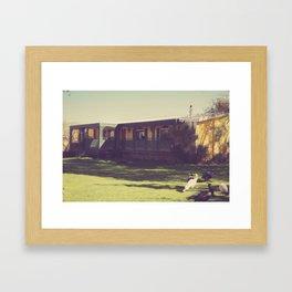 Shady Lady Framed Art Print
