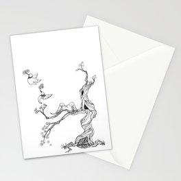 Hummingbird tree Stationery Cards