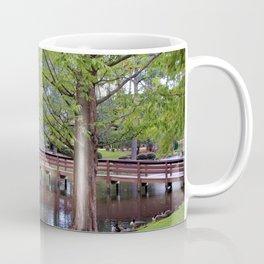 Park Geese Coffee Mug