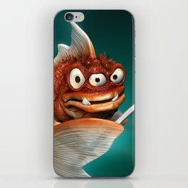 Evil Fish iPhone Skin