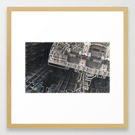 Station 4 by Jean-François Dupuis Framed Art Print