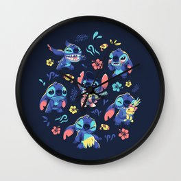 An Alien's Day Wall Clock